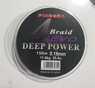 Pandora Deep Power 4 Evo 150 Mt İp Misina