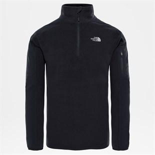 The North Face Glacier Delta 1/4 ZIP Siyah Erkek Polar